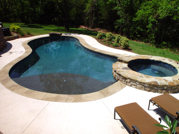 second pool for this family